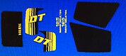 Yamaha DT125 DT125LC Pintura DECAL set