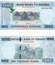 RWANDA NEW 1000 Francs ( 2015 ) Issue Banknote UNC