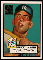 1996 Topps Mickey Mantle Commemorative Reprints - Pick A Card