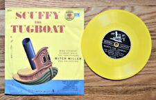 Popeye the Sailor & Scuffy the Tugboat Children's Golden Album 45rpm 1957