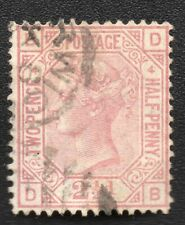 ROYAUME UNI ;GREAT BRITAIN ;2 1/2p ;plate 4 ; 1876-80 ; YT 56 ; Scott 67 / L245d