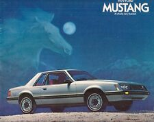 Ford Mustang 1979 USA Market Sales Brochure Sport Ghia Cobra 2-dr 3-dr