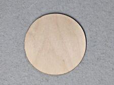"Crafting Supplies 1000 pc Laser cut wood Circles 1/2"" round Disc Blank cutout .5"