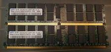 Samsung M393T5750Eza-Ce6 4Gb 2X2Gb 2Rx4 Pc2-5300P Ecc Rdimm Server Memory