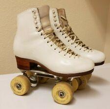 Harlick Custom Made Skating Boots w/ WALDECK German wheels & Atlas Roller plate