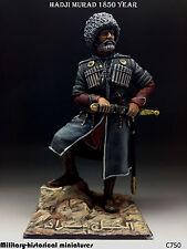 Hadji Murad 1850, Tin toy soldier 90 mm, figurine, metal sculpture HAND PAINTED