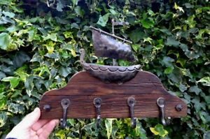 Towel Hook Rack Hand Made Hand Crafted by Blacksmith Very Unique Rustic No. 6