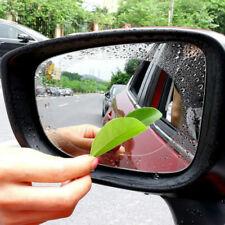 2PCS Car Rearview Mirror Protective Film Anti Fog Window Clear Rainproof Rear Vi