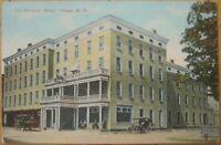 1910 NY Postcard - The Ah-Wa-Ga Hotel - Owego, New York