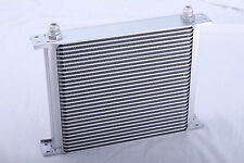 30 Row Oil Cooler 3/4 16 UNF Universal Racing Kit Engine Alloy Race Silver NEW