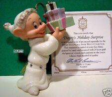 Lenox Dopey'S Holiday Surprise Ornament NewinBox w/Coa