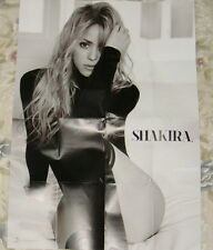 "Shakira s/t 2014 Taiwan Promo ""folded"" Poster (Can'T Remember To Forget You)"
