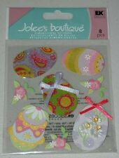 JOLEE'S EASTER EGGS 3D STICKERS EMBELLISHMENTS