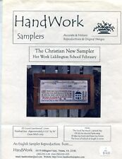 Cross Stitch Chart - Handwork Samplers  - The Christian New Sampler