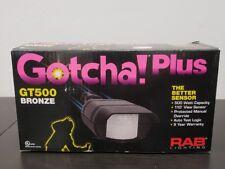 RAB LIGHTING GT500 GOTCHA!  MOTION SENSOR *NIB*