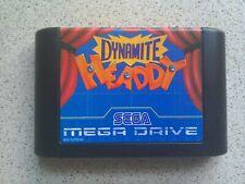 Dynamite Headdy-Sega Mega Drive Juego (probado-Envío Rápido-Pal)