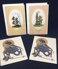 Vintage Cards Reproductions Norman Rockwell & Reproducta Co Whiting Stationery