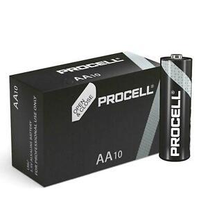 Duracell Procell AA Alkaline Battery 1.5V MN1500 LR6 1 2 4 6 8 10 20 30 40 50