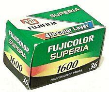 FUJICOLOR Superia Fuji 1600 36 Exp. 24x36mm Color Film - Expired 2006 RARE NIB