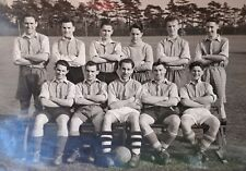 1952 B/W Photograph. Male Footballl Team. Peter Carpenter, 67 Cedar Rd Dartford