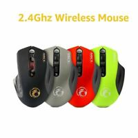 USB Wireless mouse Adjustable USB 3.0 Receiver Optical Computer Mouse 2.4GHz Erg