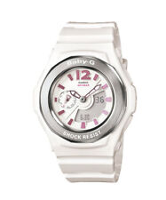 CASIO Baby-G BGA-142-7 BGA-142-7BDR Pretty Metallic White Watch