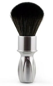 Silvertip RAZOROCK 400 Silver Noir Plissoft - Metal Handle & Synthetic Hair Hard