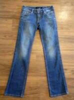 """Calvin Klein Womens Medium Wash Denim Lean Boot Cut  Jeans Size 4 (W28""""xL31"""")"""