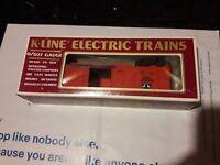 O Gauge: K-Line K-75031 Santa Fe Boxcar S.F.R.D. 75031 1990 Train
