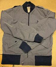 Men's Jack Wills Blue Aviator Jacket  Size S