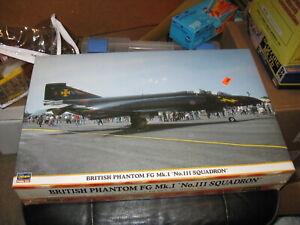 Sealed British Phantom FG Mk.1 'No.111 Squadron' in 1/48 scale by Hasegawa-2000