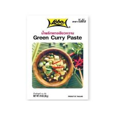 50g Lobo Grüne Thai Curry Paste Grünes Curry Thailand Gewürzpaste