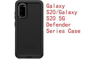 Otter Defender Rugged shockproof Black case for Samsung Galaxy S20 new box