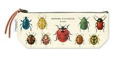 Cavallini - 100% Coton Naturel Vintage Mini Sac Pochette - 10x23cms - Insectes