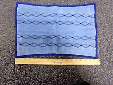 """Rubbermaid Microfiber Quick Change 12"""" x 17-1/2"""" Wet Mop Head, Blue 1791680 (RC)"""