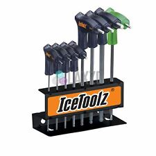 IceToolz ProShop 8 Piece Hex And Torx Key Set 7M85 Bicycle Twin Head Wrench set