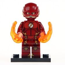 The Flash - Matte Red Lego Moc Minifigure, Brand New & Sealed For Kids