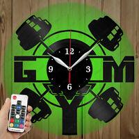 Details about  /LED Vinyl Clock Santana LED Wall Art Decor Clock Original Gift 4845