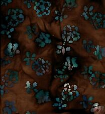 3571 BATIK FABRIC BY THE 1/2 YARD 100% COTTON SEWING CRAFTS