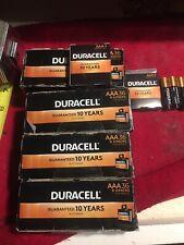 Duracell  Alkaline AAA Batteries Wholesale  LOT  144 Pc ...(4) 36 PACKS 2028