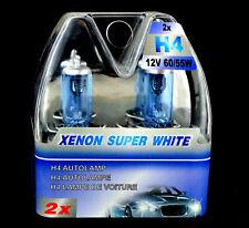 H4 Birnen Xenon Optik Halogenlampen Super Weiss 12 Volt 60 / 55 Watt