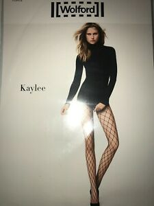 Wolford Kaylee Net Tights  Size: Medium Color: Black   19172 - 09  $61