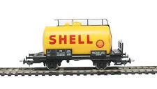 """57707 Piko HO & galga de OO Tanque Vagón del alemán DB en """"Shell"""" Amarillo"""