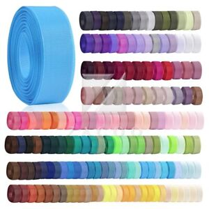"10M 3/2""38mm Grosgrain Ribbon Wedding Party Craft Decoration Supplies 160 Colors"
