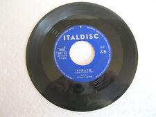 "MINA Eclisse Twist (1962) Vinyl 7"" 45 RPM - Italdisc – MH - 115"