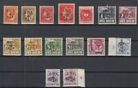 CR7582/ NETHERLAND INDIES – JAPANESE NAVAL OCC – 1942 / 1943 MINT MNH COLLECTION