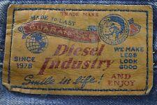Premium Homme DIESEL ZATINY Bleu Factory Aged Regular Bootcut Jeans W36 L30