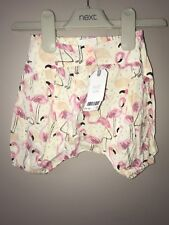 NEXT Baby Girls Cute Flamingo Pants 0-3 Months ⭐️BNWT⭐️