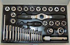 38 PC Ratcheting Tap & Die Set UNC METRIC 10108115 Threading Tools Latest Design