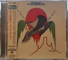 On The Border by Eagles (CD, 2005, Warner  WPCR-75128) Japan Import